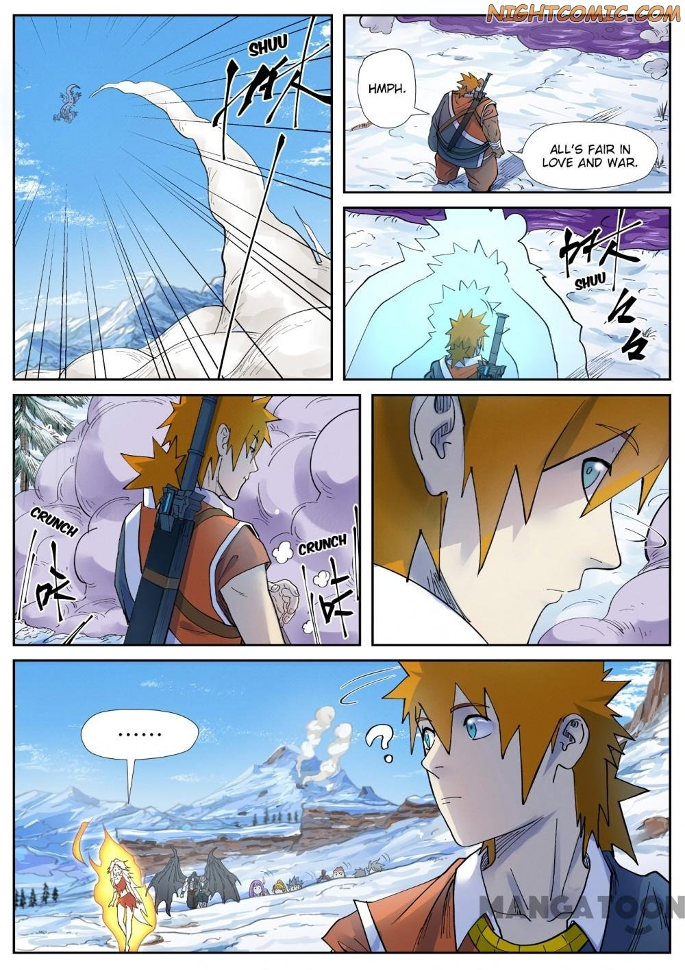 Manga Tales Of Demons And Gods - Chapter 253.2 Page 1