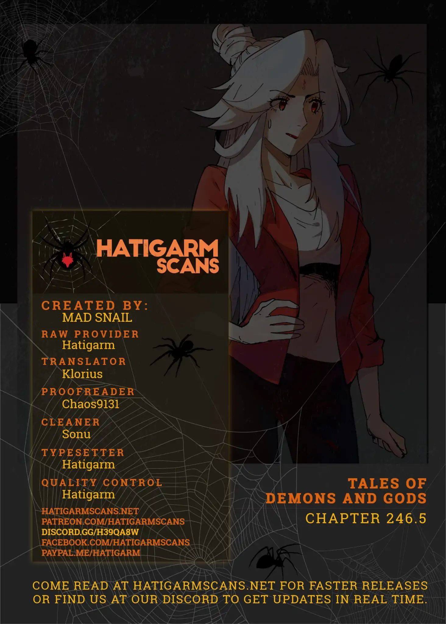 Manga Tales Of Demons And Gods - Chapter 246.5 Page 1