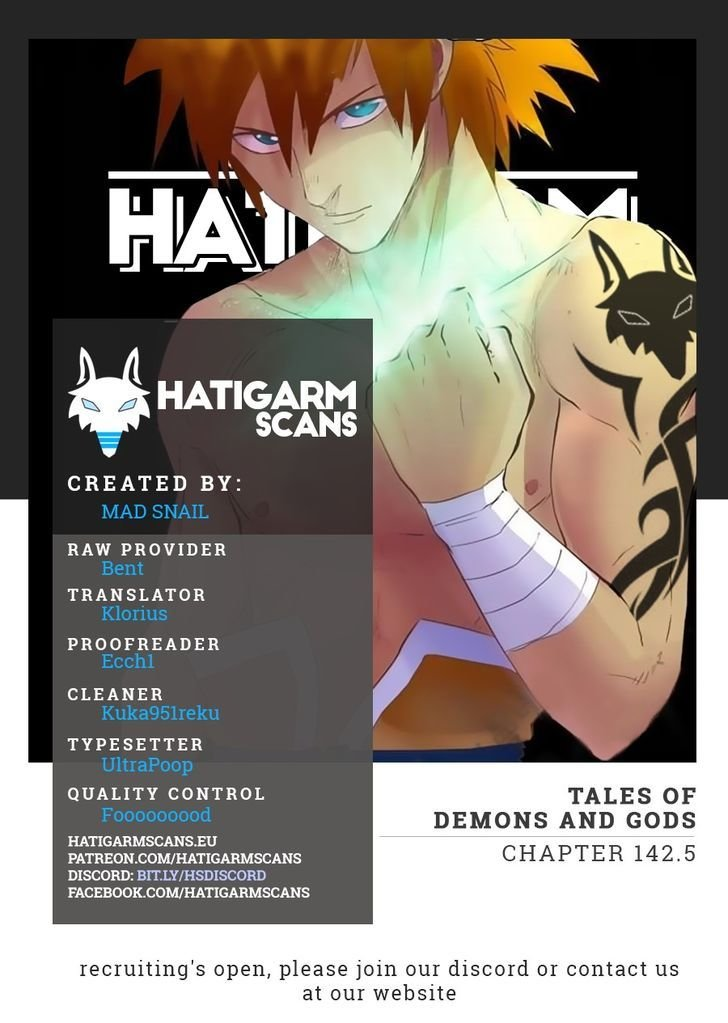 Manga Tales Of Demons And Gods - Chapter 142.5 Page 1