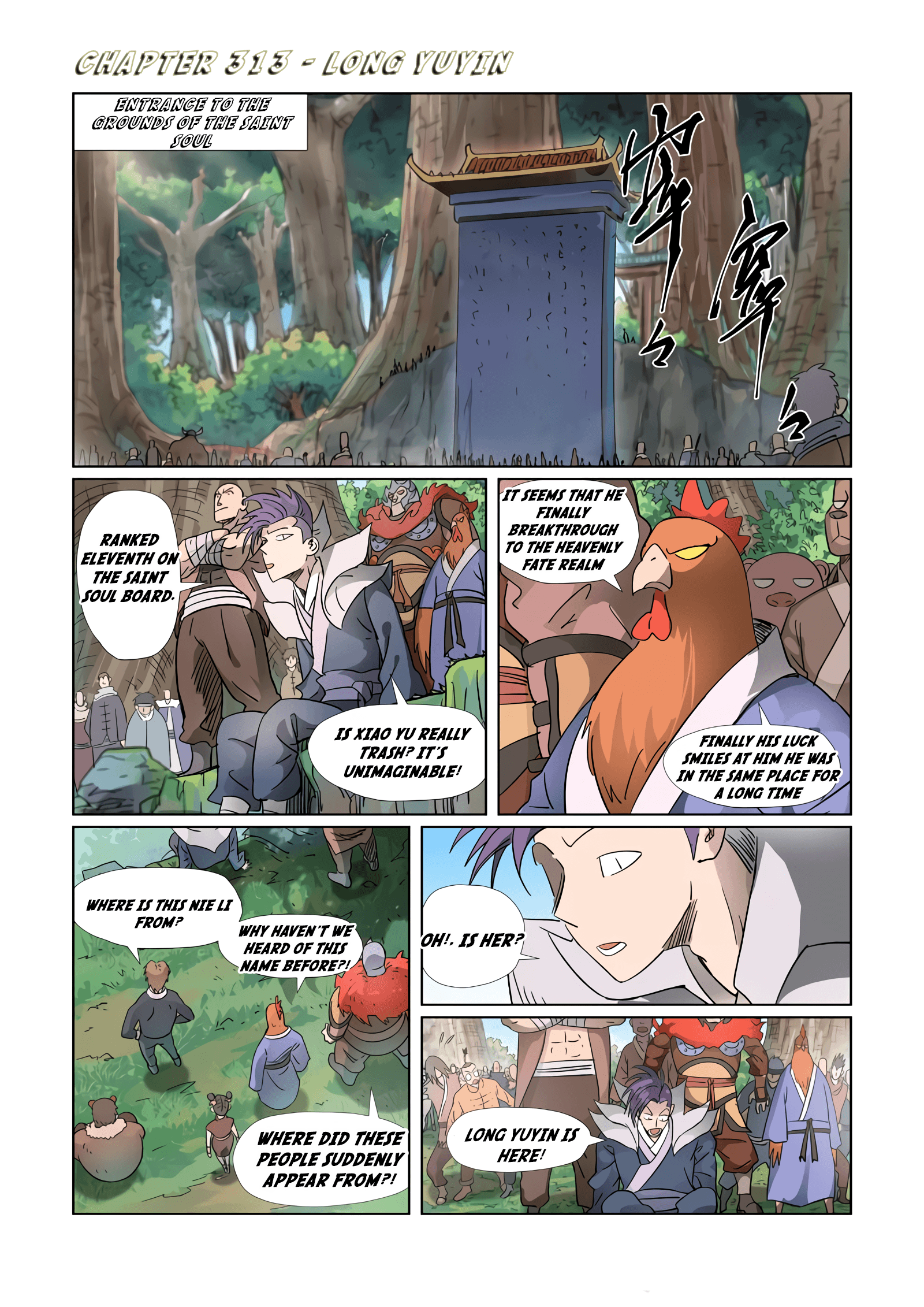 Manga Tales Of Demons And Gods - Chapter 313 Page 1