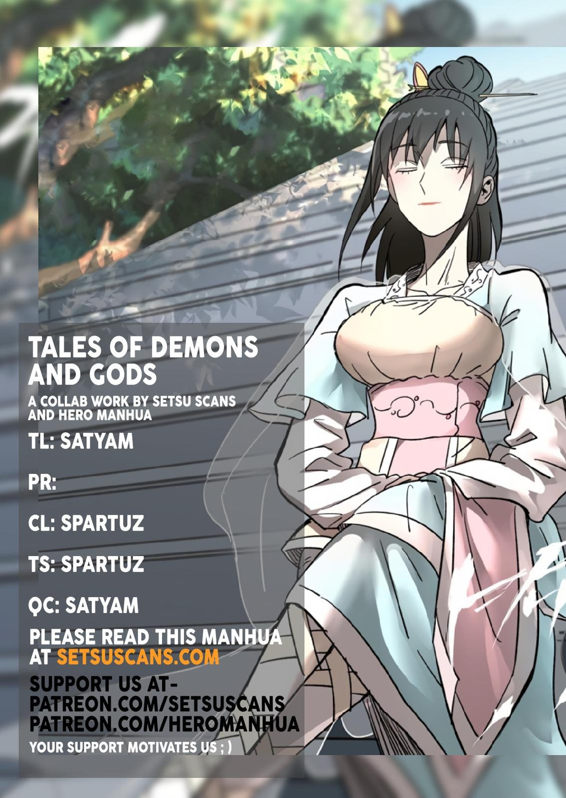 Manga Tales Of Demons And Gods - Chapter 323.5 Page 1