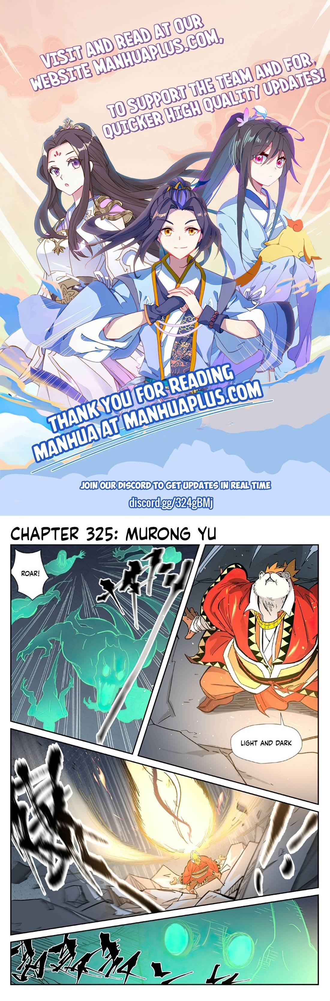 Manga Tales Of Demons And Gods - Chapter 325 Page 1