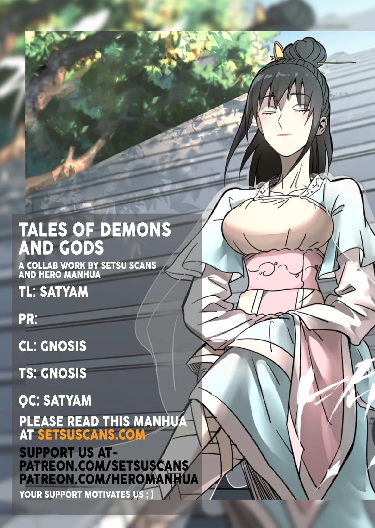 Manga Tales Of Demons And Gods - Chapter 337.1 Page 1