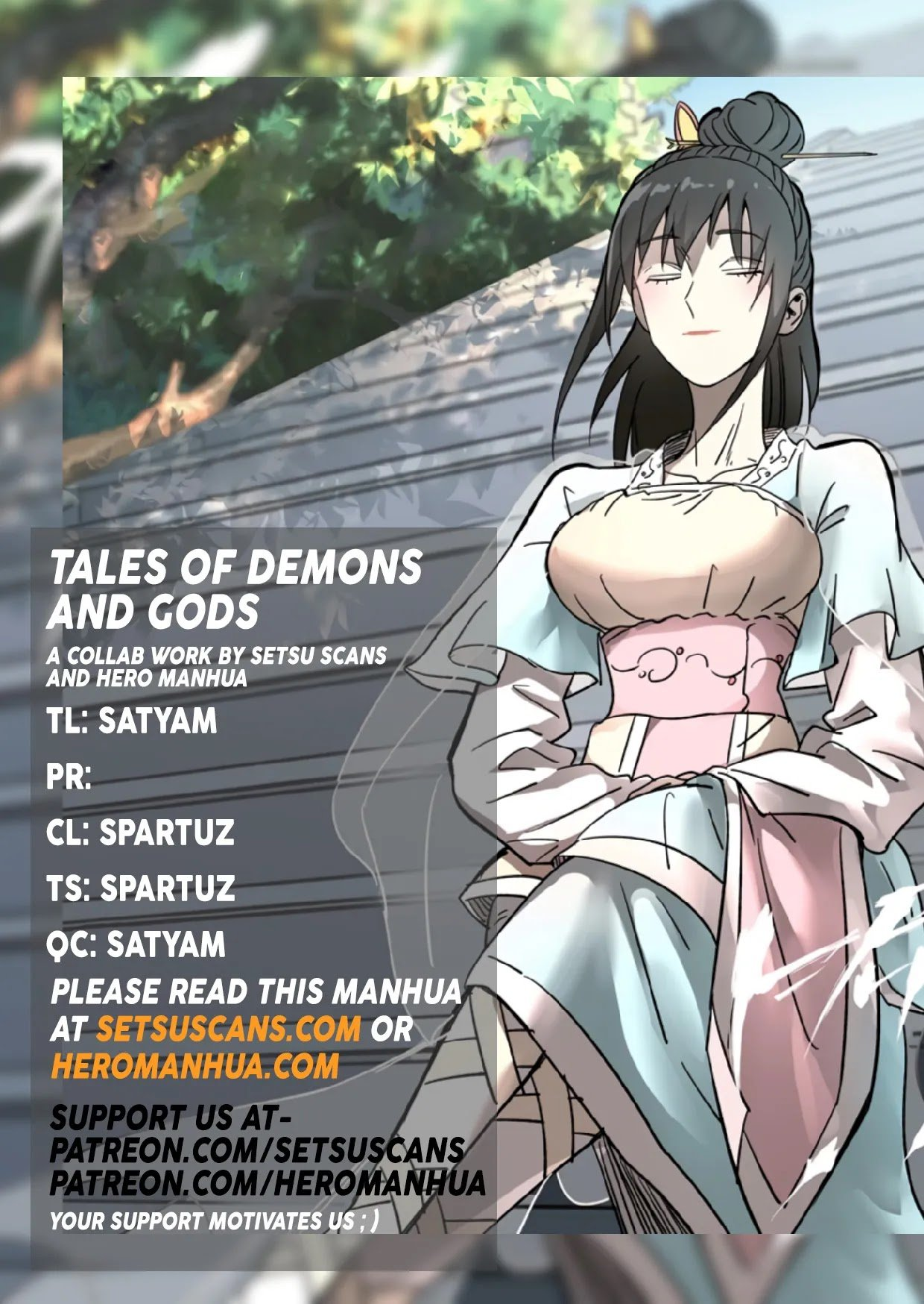 Manga Tales Of Demons And Gods - Chapter 344.5 Page 1