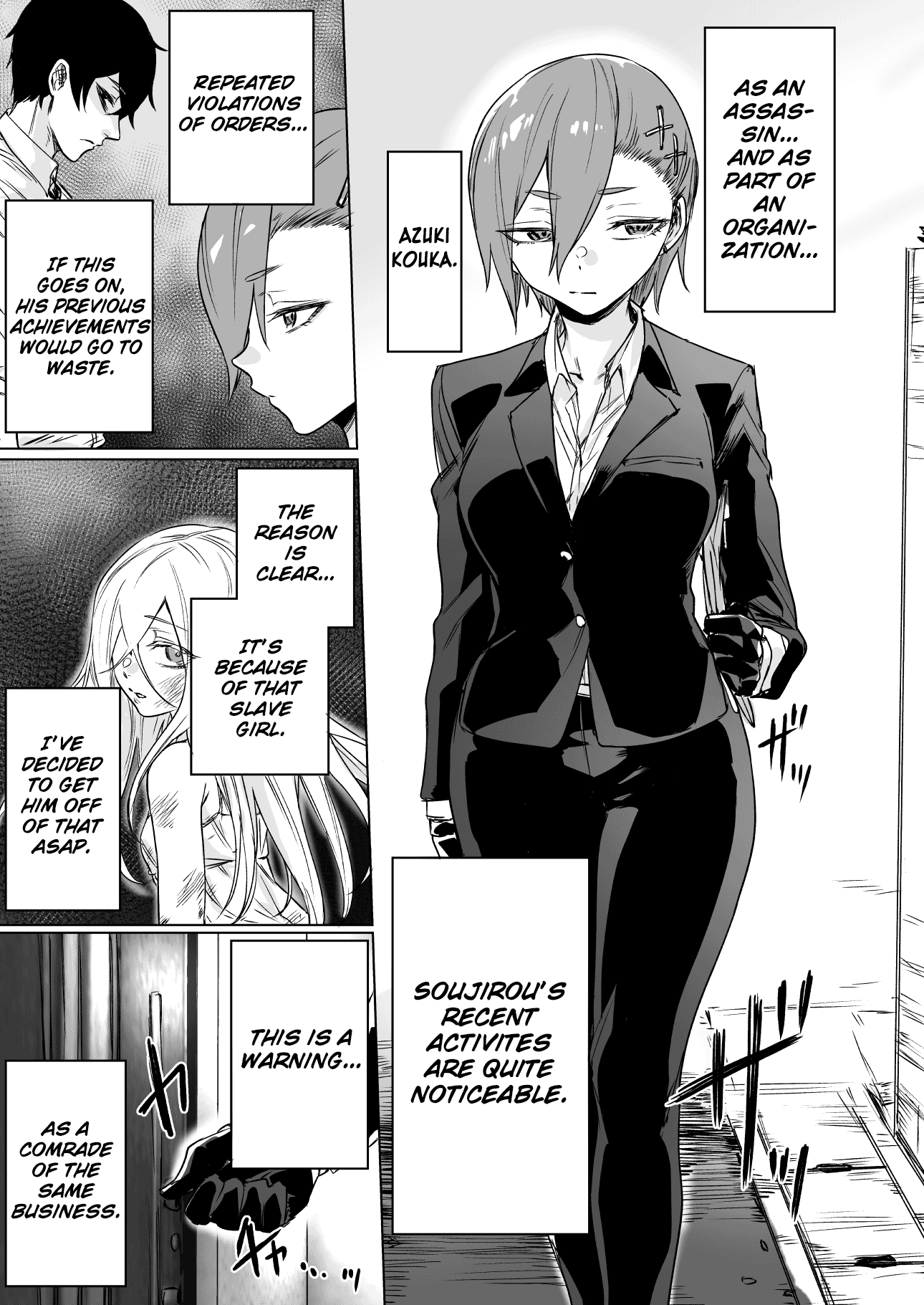 Manga Today Once Again, The Assassin Cannot Win Against The Girl He Picked Up! - Chapter 10 Page 1