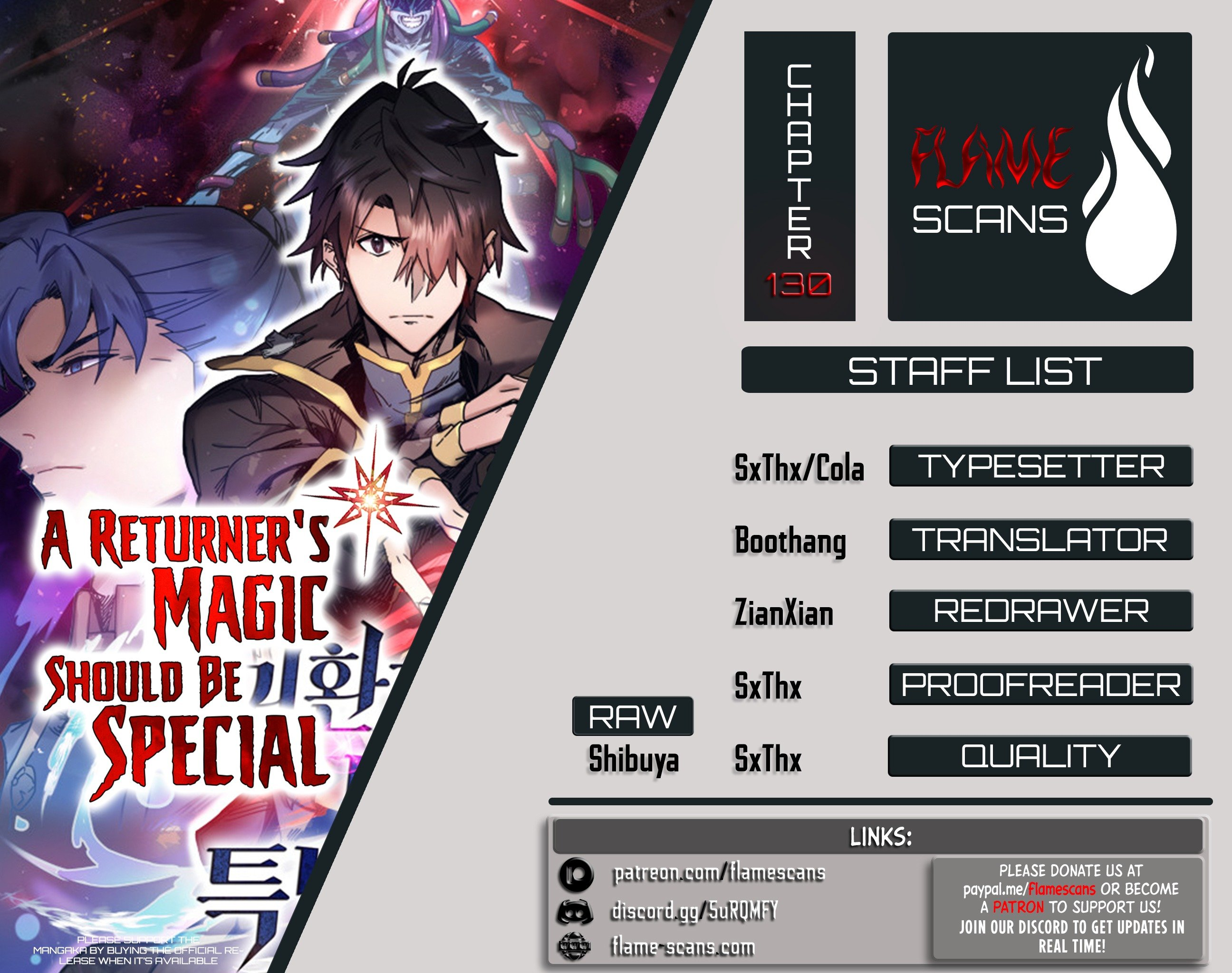 Manga A Returner's Magic Should Be Special - Chapter 130 Page 1