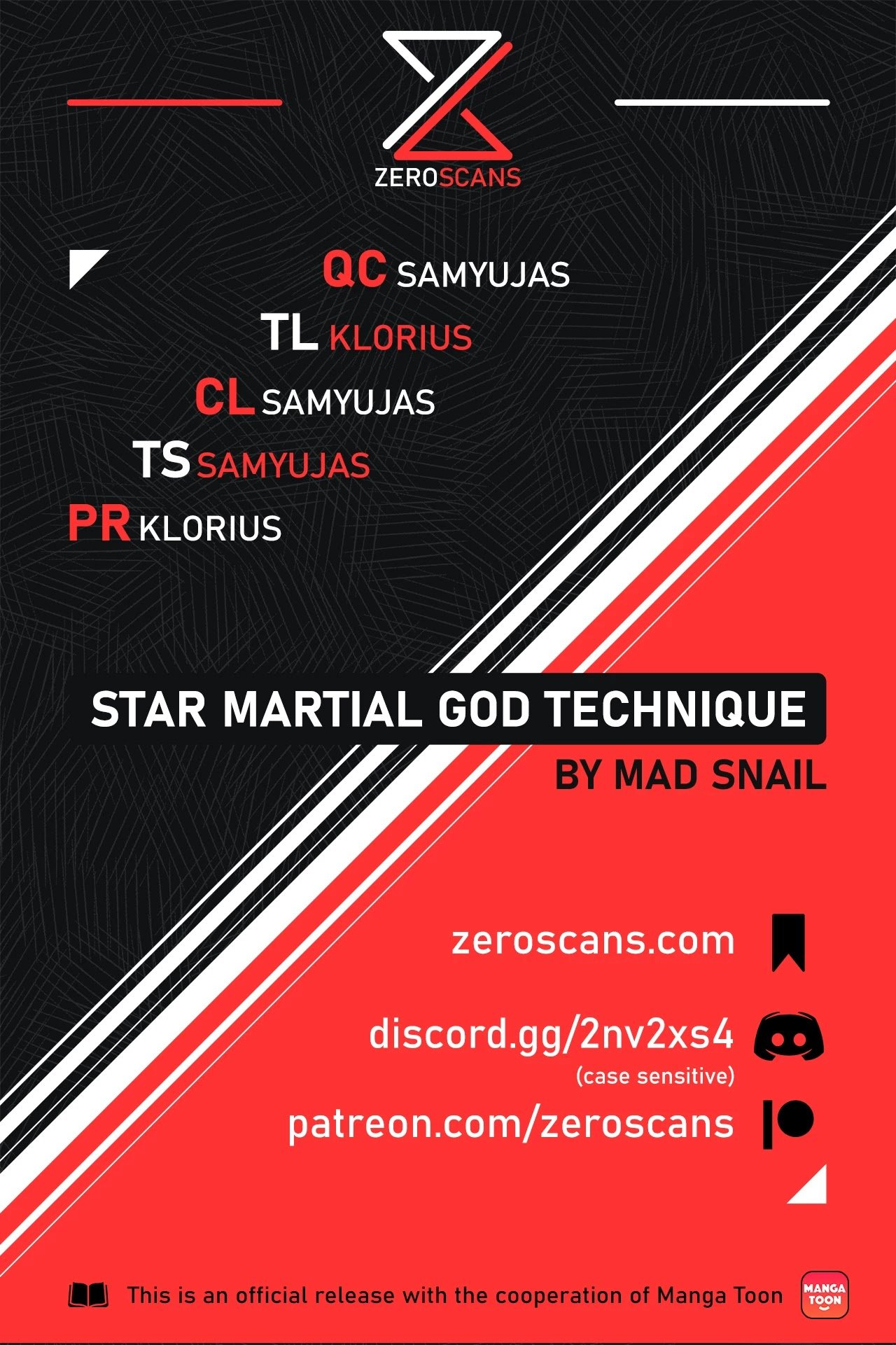 Manga Star Martial God Technique - Chapter 452 Page 1