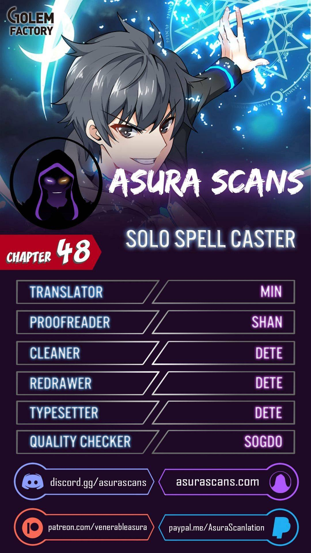 Manga Solo Spell Caster - Chapter 48 Page 1