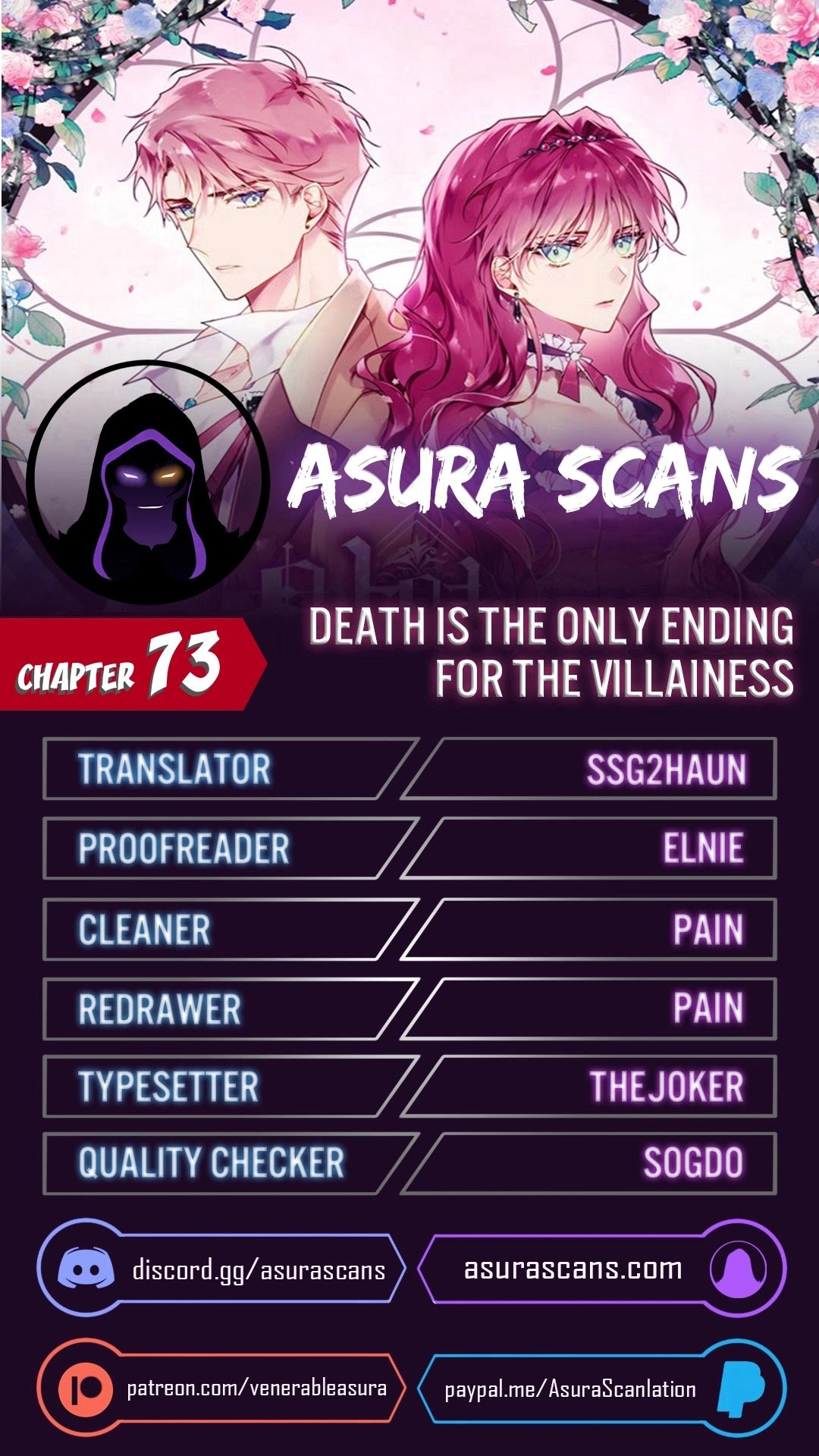 Manga Death Is The Only Ending For The Villainess - Chapter 73 Page 1