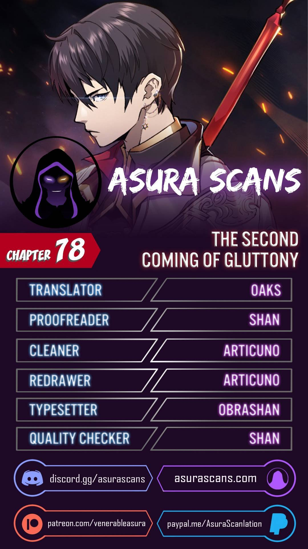 Manga The Second Coming Of Gluttony - Chapter 78 Page 1